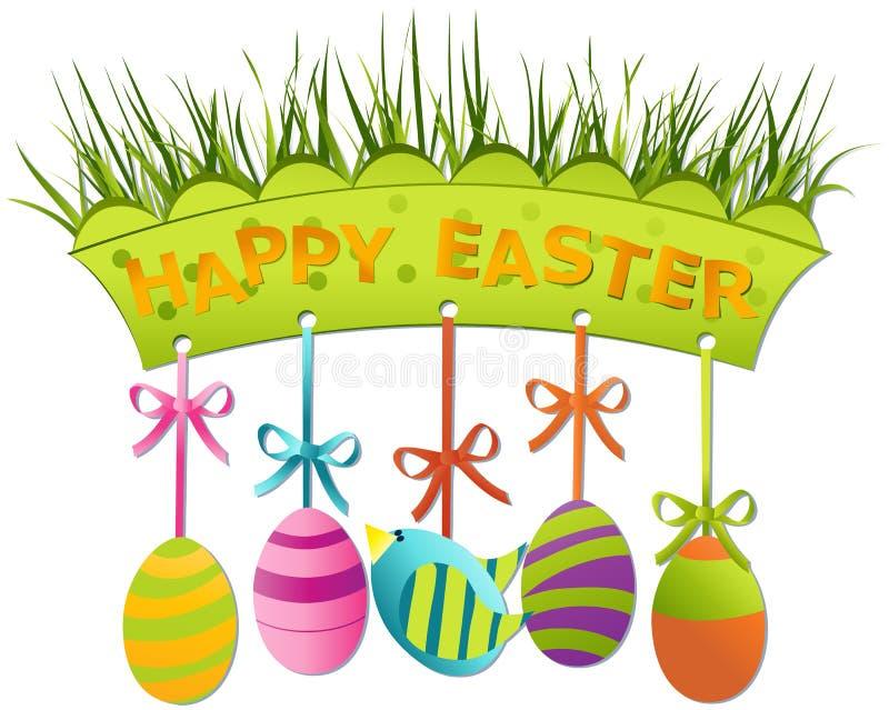 deskowy Easter royalty ilustracja