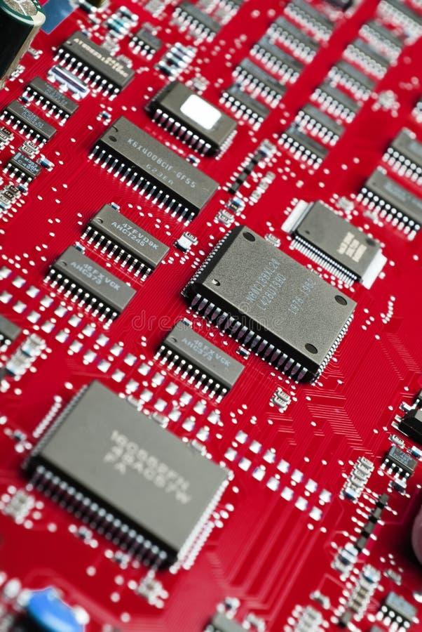 deskowy elektroniczny system obraz stock