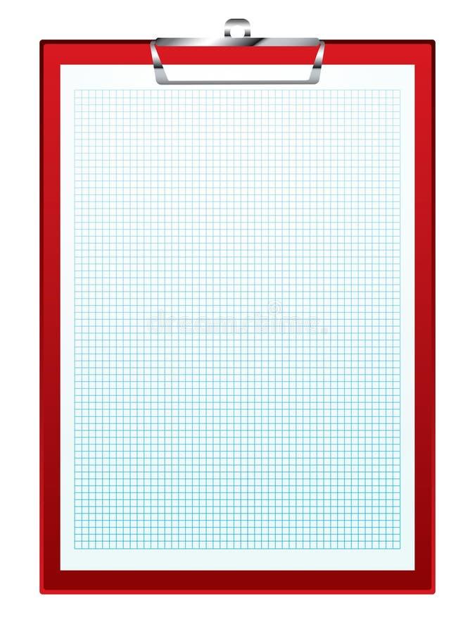 deskowy klamerki wykresu papier ilustracji
