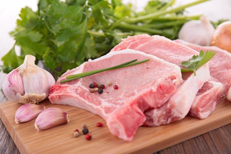 deskowy mięsny surowy zdjęcie royalty free