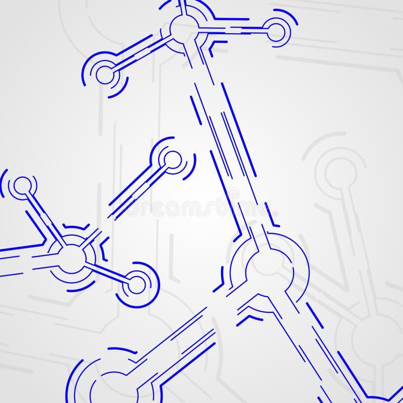 deskowy obwód ilustracja wektor