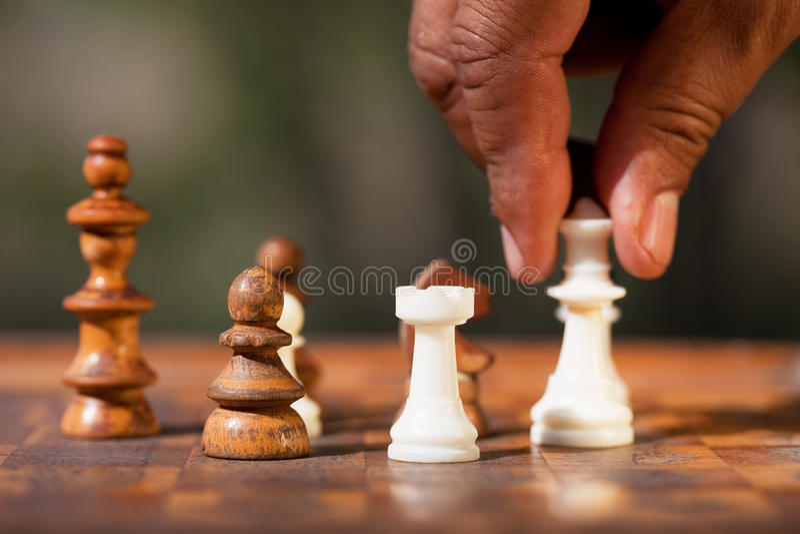 deskowy szachy obrazy stock