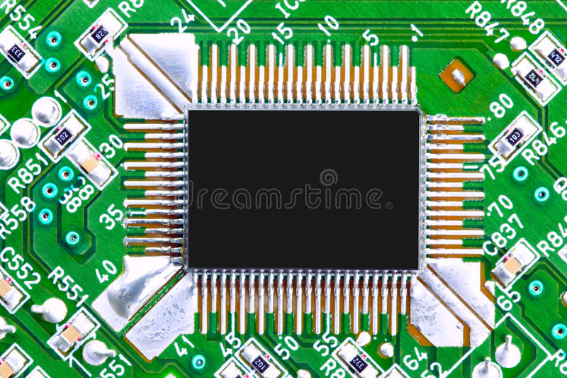 Download Deskowy Układ Scalony Obwodu Komputer Obraz Stock - Obraz: 13760251