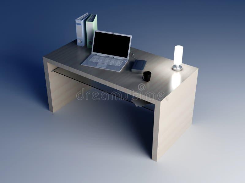 Desktop vektor abbildung