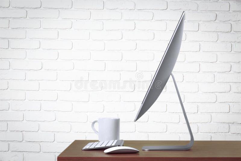 desktop imagem de stock royalty free