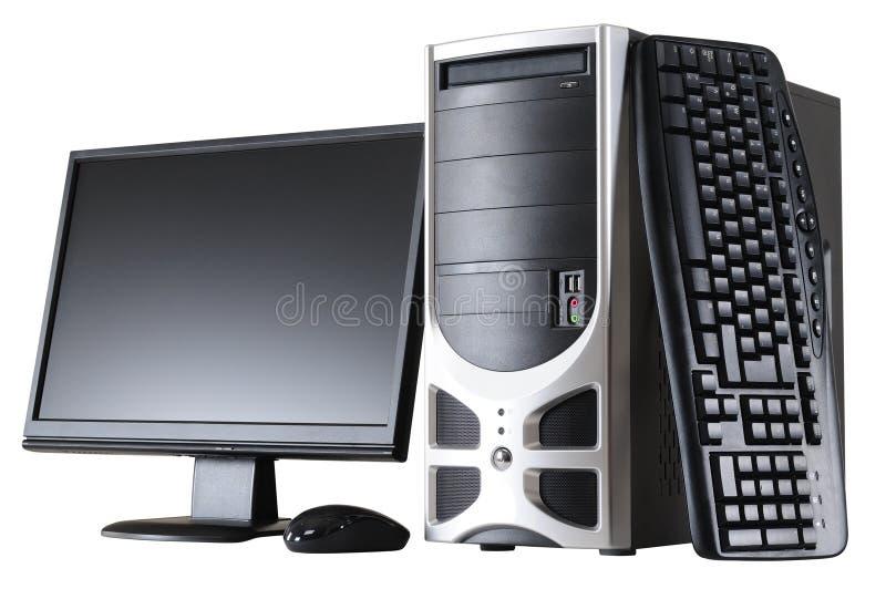 Desktop computer immagini stock libere da diritti