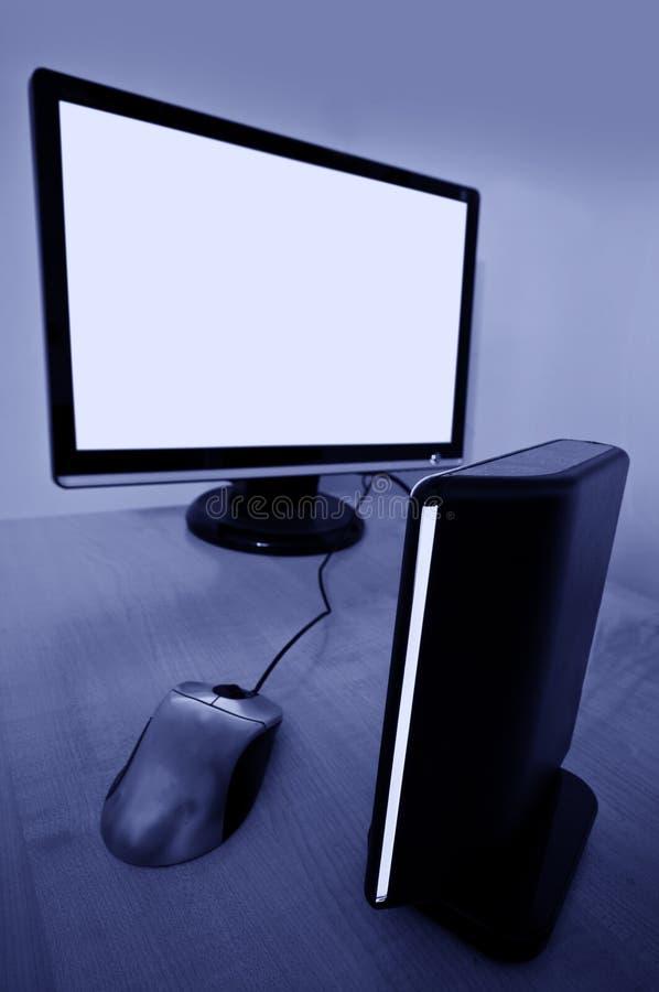 Desktop computer immagine stock libera da diritti