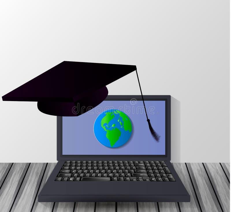 desktop Concepto de educación libre illustration