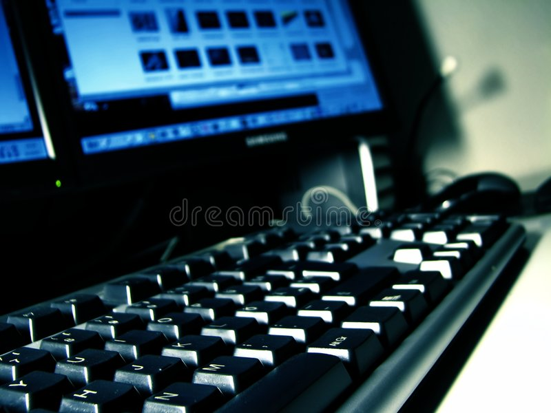 desktop komputerowy fotografia royalty free