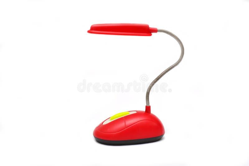 Desktop LEIDENE lamp royalty-vrije stock foto's