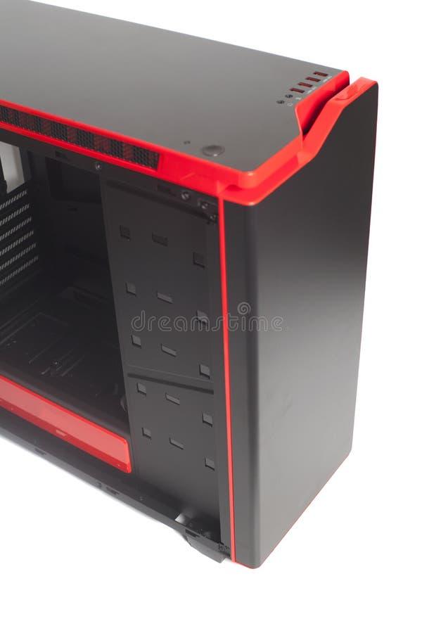 Desktop Pusta Komputerowa skrzynka zdjęcie royalty free