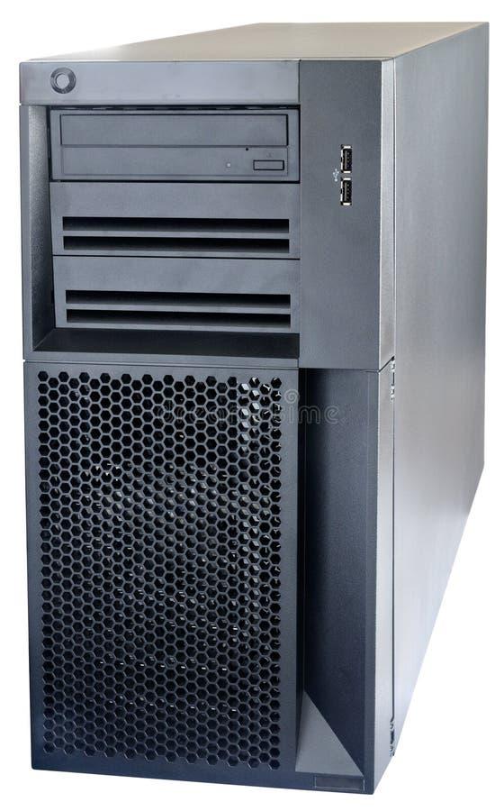 Download Desktop Server Isolated On White Stock Image - Image of desktop, white: 10166655