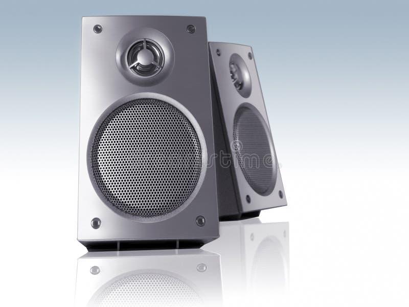 Download Desktop speakers stock illustration. Image of home, electronics - 1633767