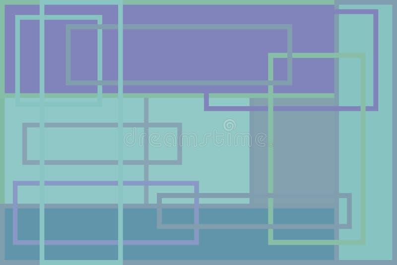Desktopbehang stock illustratie