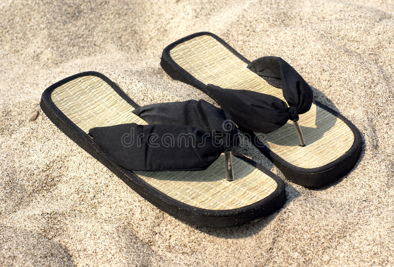Deslizador na praia imagens de stock royalty free