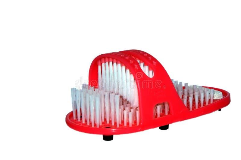 Deslizador rojo asignado para las aleaciones que acarician imagen de archivo libre de regalías
