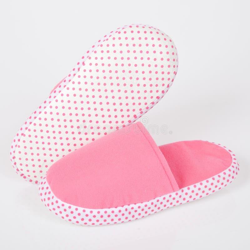 Deslizadores cor-de-rosa fotografia de stock