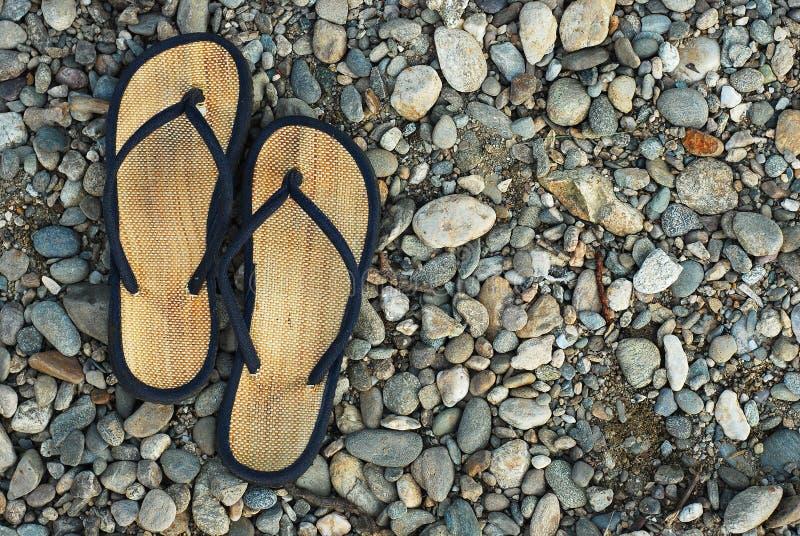 Download Deslizadores da praia imagem de stock. Imagem de pool - 10055473