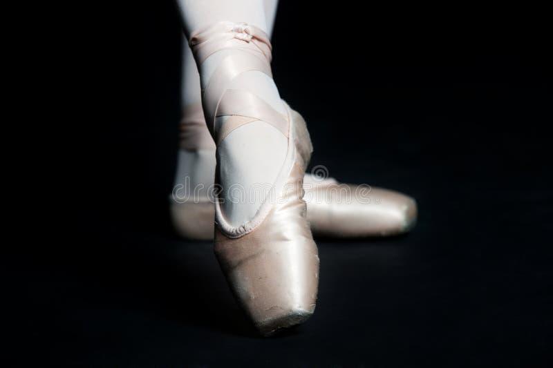 Deslizadores del ballet fotografía de archivo libre de regalías