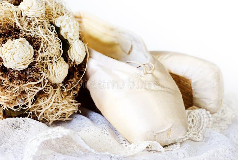 Deslizadores del ballet imágenes de archivo libres de regalías