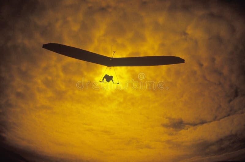 Deslizamiento de caída solar de la navegación fotos de archivo