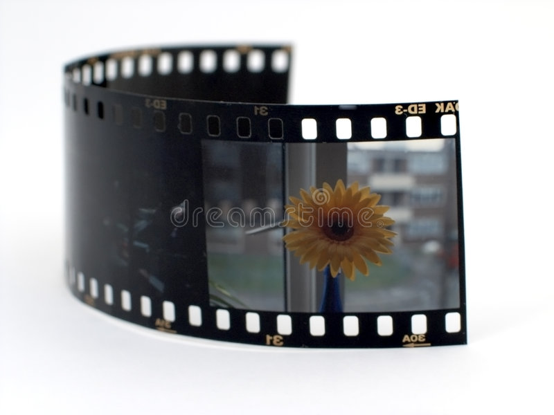 Deslize a película foto de stock royalty free