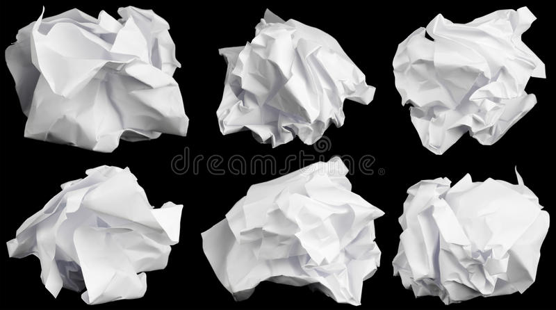 Desmenuzado encima del papel. fotografía de archivo libre de regalías