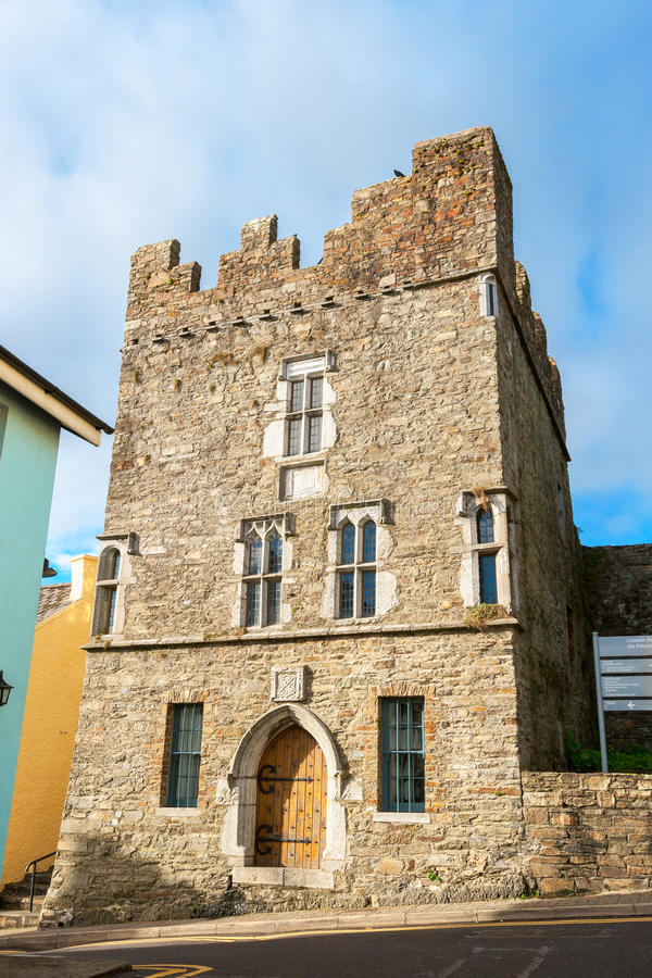 Desmond Castle Kinsale, Irlanda fotografia stock libera da diritti