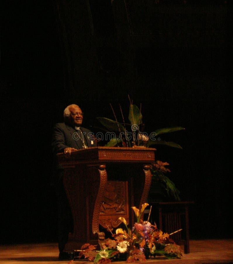 Desmond Tutu fotografia de stock