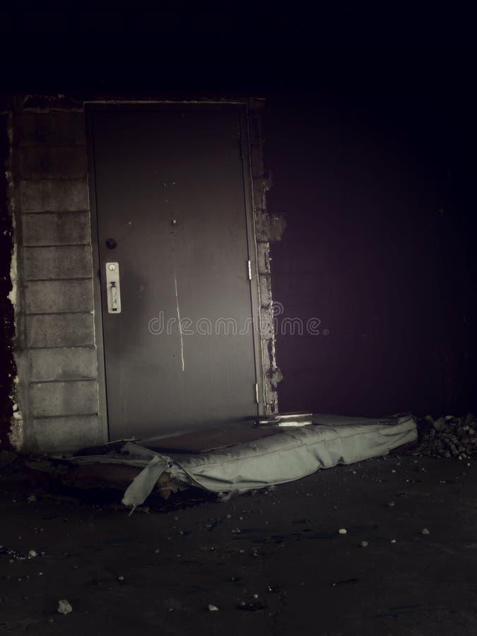 Desolate Bedding Stock Photo