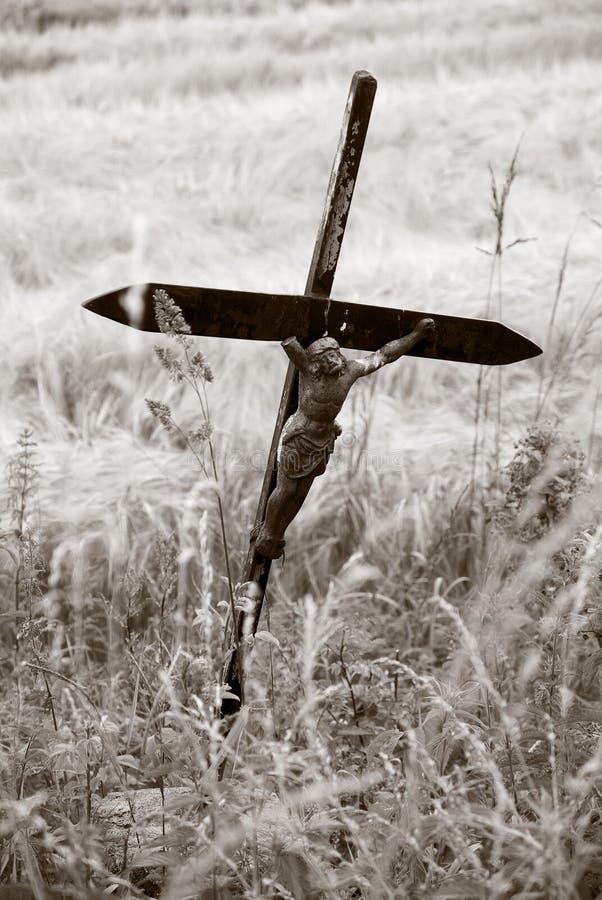 Desolate Jesus   lizenzfreies stockfoto
