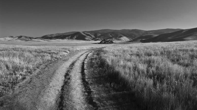 Desolate Straße lizenzfreie stockfotos