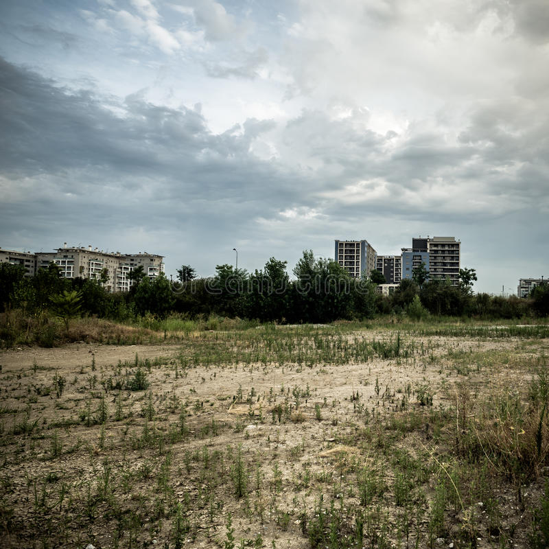 Download Desolate suburb landscape stock photo. Image of artistic - 32814186