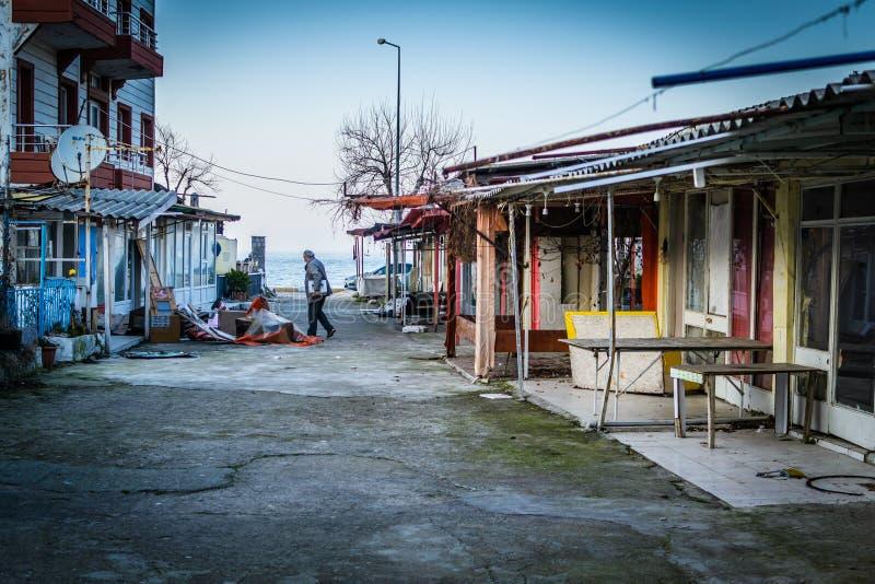 Desolated Carnaval en Eerlijk Gebied stock fotografie