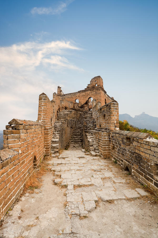 Free Desolation Of The Great Wall Royalty Free Stock Photos - 23147158