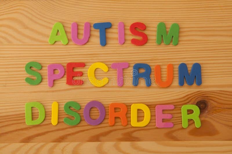 Desordem do espectro do autismo fotografia de stock royalty free