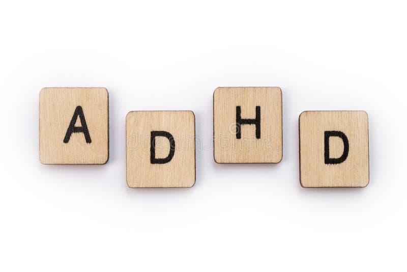 Desorden de la hiperactividad del déficit de atención imagenes de archivo