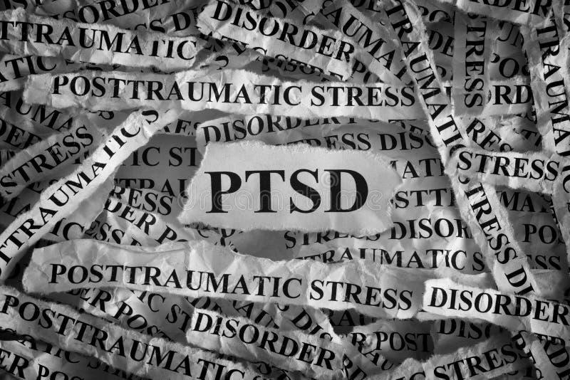 Desorden de tensión de Posttraumatic imagen de archivo libre de regalías