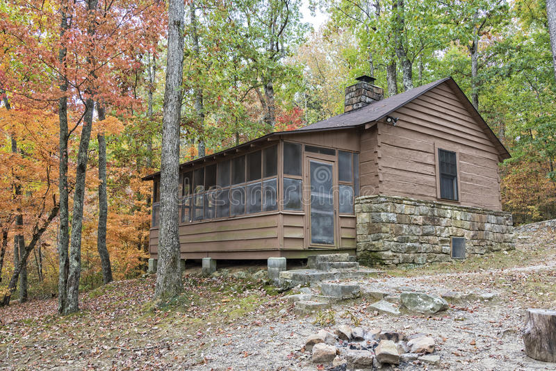 Download DeSoto State Park Cabin Stock Photo. Image Of Cabin, Autumn    81850846