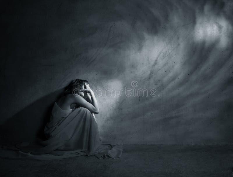 despair стоковая фотография rf