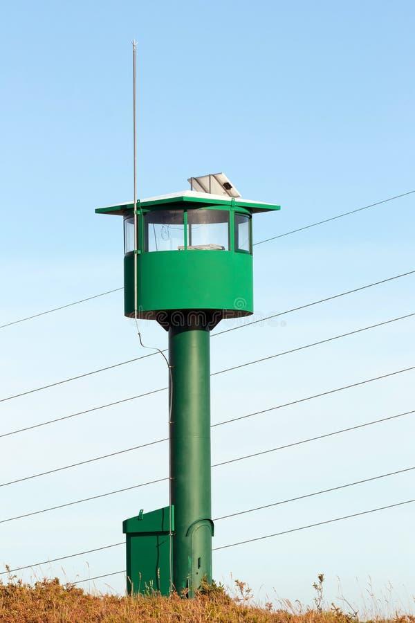Despeça o Watch-Tower fotografia de stock
