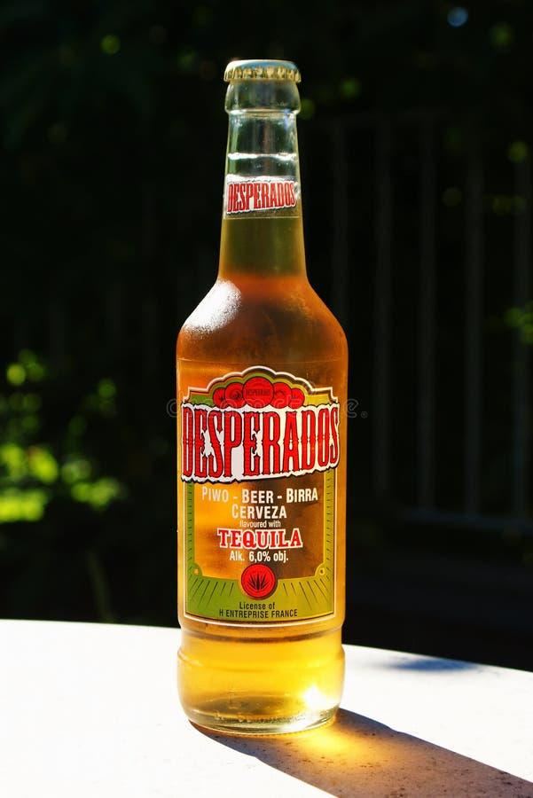 desperados пива стоковая фотография
