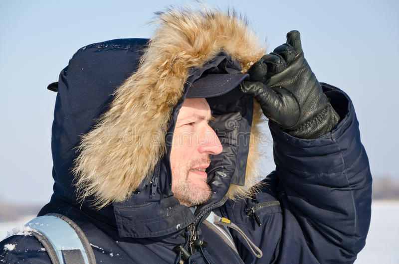Download Desperate climber stock image. Image of season, explorer - 28088011