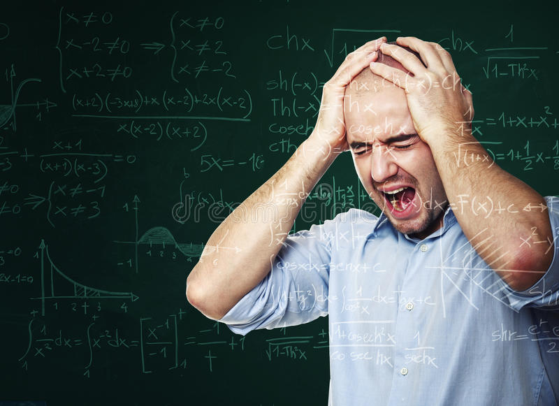 Download Desperate teacher stock photo. Image of math, caucasian - 28932538