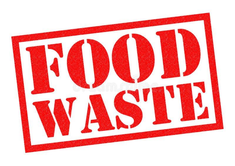 Desperdício de alimento ilustração do vetor