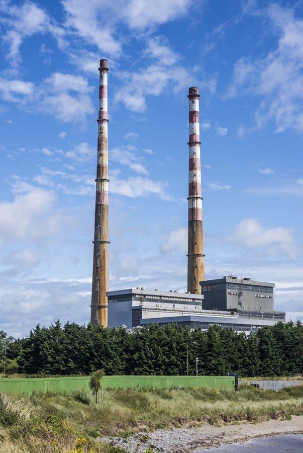 Desperdício de Dublin à planta do ovanta do ¡ da energia Ð imagem de stock royalty free