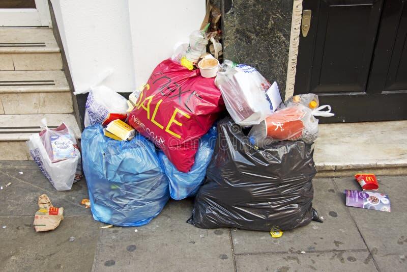 Desperdícios em Londres imagens de stock royalty free