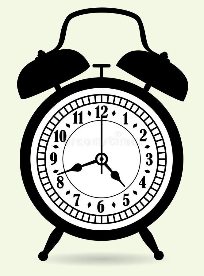 Download Despertador ilustração do vetor. Ilustração de minuto - 16853813