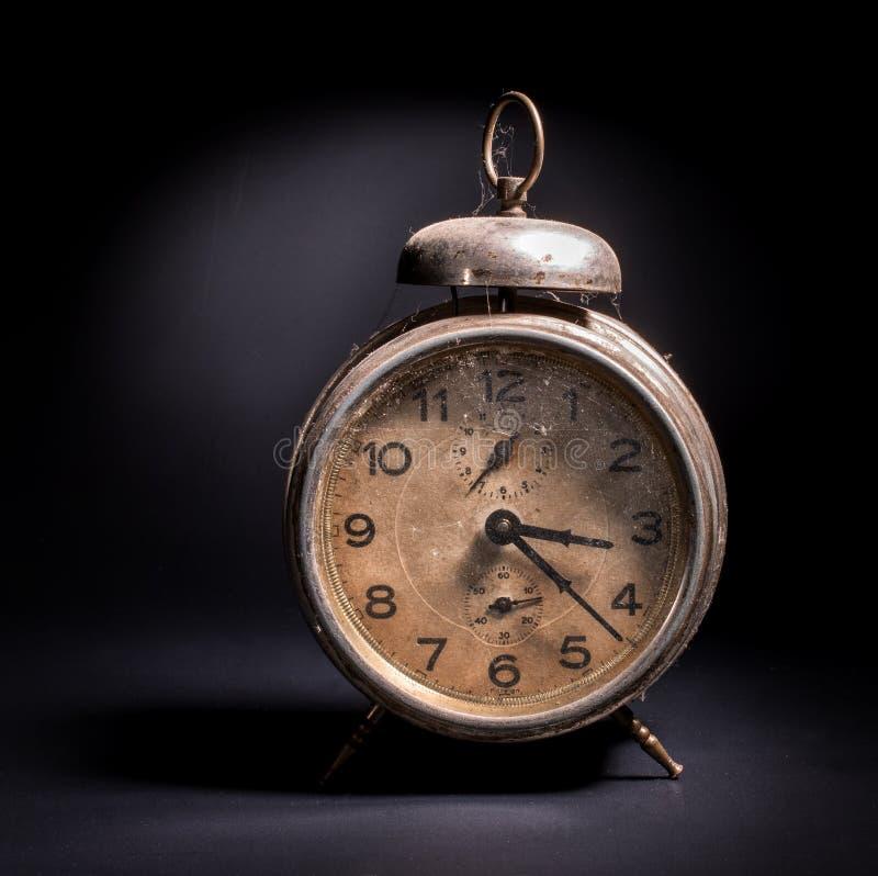 Download Despertador Del Vintage En Negro Foto de archivo - Imagen de minuto, elegante: 44857756
