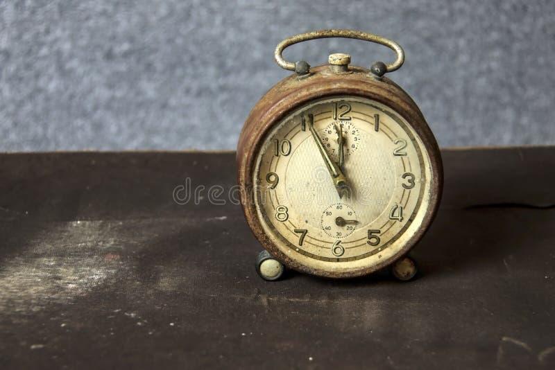 Despertador do vintage fotografia de stock